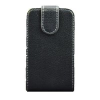Nokia Asha 501 Kapaklı Dik Açılan Siyah