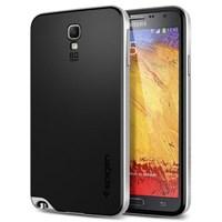 Spigen Galaxy Note 3 Neo Case Hybrid Satin Silver Kılıf