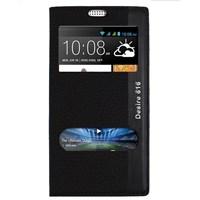 Magnum HTC Desire 616 Magnum Pencereli Kılıf Siyah MGSACMTVX36