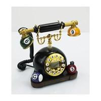 Mukko Home Polyester Bilardo Formlu Ahizeli Telefon LNY034
