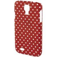 MM 135225 Galaxy S5 Polka Dots Koruyucu Kılıf Kırmızı-Beyaz