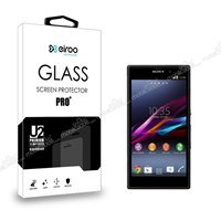 Eiroo Sony Xperia Z1 Tempered Glass Cam Ekran Koruyucu