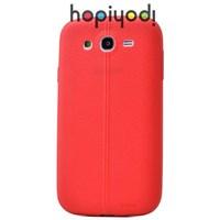 Samsung Galaxy Grand Neo Kılıf Taksim Silikon Kapak Kırmızı