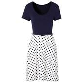 BODYFLIRT Penye elbise - Mavi 94128495 19555954