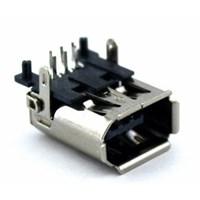 MS-086 FireWire 1394 6 Pin 90º Şase Soket