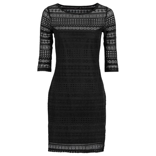 BODYFLIRT Dantelli elbise - Siyah 90855295 20388247