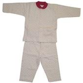 Sebi Bebe 51048 Bebek Pijama Takımı Kar Damlası Fuşya 6-9 Ay (68-74 Cm) 33443875