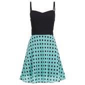BODYFLIRT Elbise - Yeşil 24824264