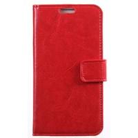 xPhone Galaxy S4 Cüzdanlı Kırmızı Kılıf MGSCJTIJVX5