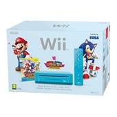 Nintendo Wii + Mario and Sonic London Olympic Games Bundle