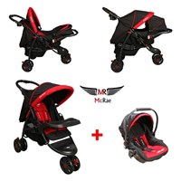 McRae MC 815T Triple Jogger Travel Set