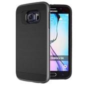Microsonic Samsung Galaxy S6 Kılıf Slim Heavy Duty Siyah CS300-SHD-GLX-S6-SYH