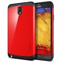 Samsung Galaxy Note 3 Kılıf Slim Armor Crimson Red Kapak