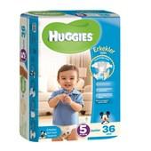 Huggies Junior Erkek 36'lı Bebek Bezi 5 Beden