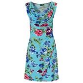 BODYFLIRT Penye elbise - Mavi 91555695 8699067771972