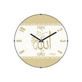Cadran Luxury Bombeli Cam Duvar Saati Allah (Cc) 32757298