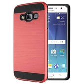 Microsonic Samsung Galaxy J5 Kılıf Slim Heavy Duty Kırmızı CS300-SHD-GLX-J5-KRZ