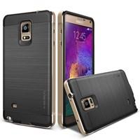 Verus Samsung Galaxy Note 4 Case New Iron Shield Series Kılıf - Renk : Gold