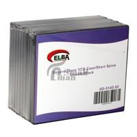 ELBA QD-514D.02 2Lİ SİYAH 10mm VCD Case (KUTUSU)