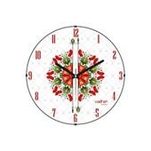 Cadran Luxury Bombeli Cam Duvar Saati Ukrayna Deseni-5 32757286