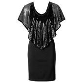 BODYFLIRT boutique Payetli elbise - Siyah 24486774