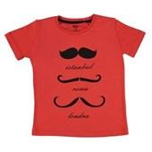 Baby&Kids Bıyıklı Tshirt Kırmızı 1,5 Yaş 24563539