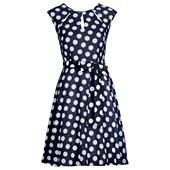 BODYFLIRT Puantiyeli elbise - Mavi 25074779