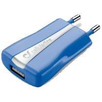 CELLULAR LINE Compact USB Şarj Aparatı Mavi