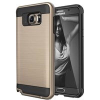Microsonic Samsung Galaxy Note 5 Kılıf Slim Heavy Duty Gold CS300-SHD-GLX-NOTE5-GLD