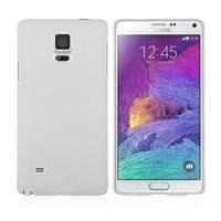 Microsonic Premium Slim Samsung Galaxy Note 4 Kılıf Beyaz