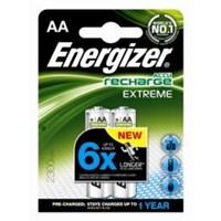 ENERGIZER AA Tipi 2300 MAH Şarjlı Pil. 2-Li Blister. % 70 Şarj Edilmiş Hazır