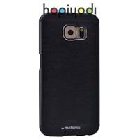 Samsung Galaxy S6 Kılıf Motomo Arka Kapak Siyah