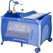Baby2go 8433 Paradise Oyun Parkı & Park Yatak Lüx Mavi (70x110 Cm)