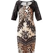 Bodyflırt Boutique Scuba Kumaş Görünümde Elbise - Siyah 30249899