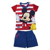 Mickey Mouse MC4263 Erkek Pijama Takım Lacivert 3-6 Ay (62-68 Cm) 33441997