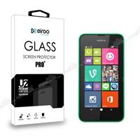 Eiroo Nokia Lumia 530 Tempered Glass Cam Ekran Koruyucu