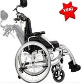 Baş Ve Sırt Destekli Tekerlekli Sandalye