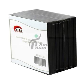 ELBA QD-517S..02 1Lİ SİYAH 10mm VCD Case (KUTUSU)