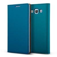 Verus Samsung Galaxy A5 Wallet Case Crayon Slim Diary Series Kılıf - Renk : Blue