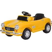 Baby 2 Go 9377 Akülü Araba Uzaktan Kumandalı Sarı