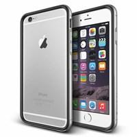 Verus iPhone 6 Plus Case Iron Bumper Series Kılıf - Renk : Black Silver