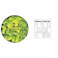 Makin's Kesici Kalıp Seti Sayılar 9 Adet Tht37002