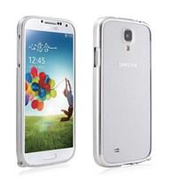 Microsonic Samsung Galaxy S4 Ultra Thin Metal Bumper Kılıf Gümüş