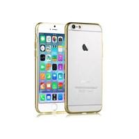 Cesim Silikon iPhone 6 Arka Kapak Altın