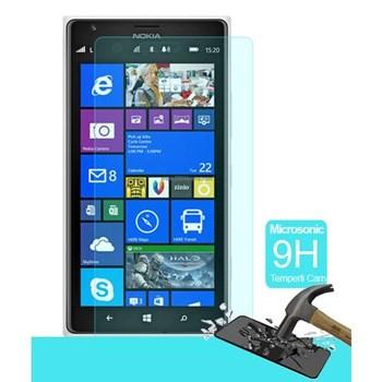 Microsonic Temperli Cam Ekran Koruyucu Nokia Lumia 1520 Kırılmaz Film