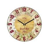 Cadran Luxury Vintage Bombeli Cam Duvar Saati Grand Hotel 32754660