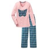 Bpc Bonprix Collection Alt Parçası Flanel Pijama - Pembe 32665002