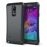 Verus Samsung Galaxy Note 4 Case Thor Series Kılıf HARD DROP - Renk : Charcoal Black