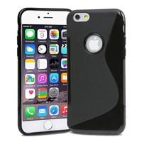 Microsonic Iphone 6 (4.7'') S-line Soft Kılıf Siyah