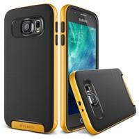 Verus Samsung Galaxy S6 Case Crucial Bumper Series Kılıf - Renk : Special Yellow